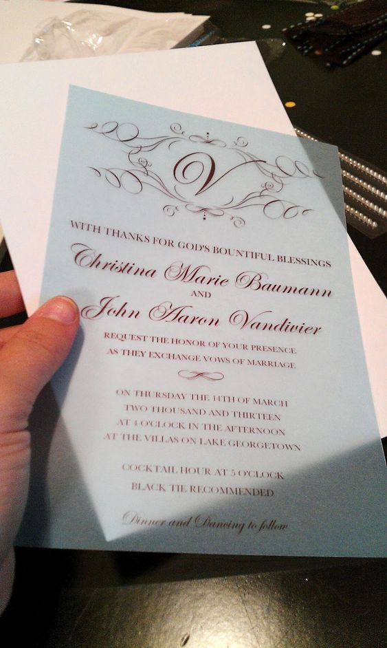Diy Wedding Gift Using Invitation : Diy wedding invitations, Diy wedding and How to make your on Pinterest