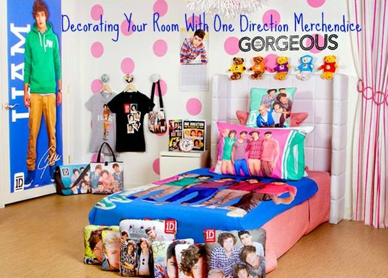 just girly things one direction themed bedroom. Black Bedroom Furniture Sets. Home Design Ideas