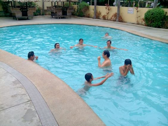 Summer Swimming with Friends!