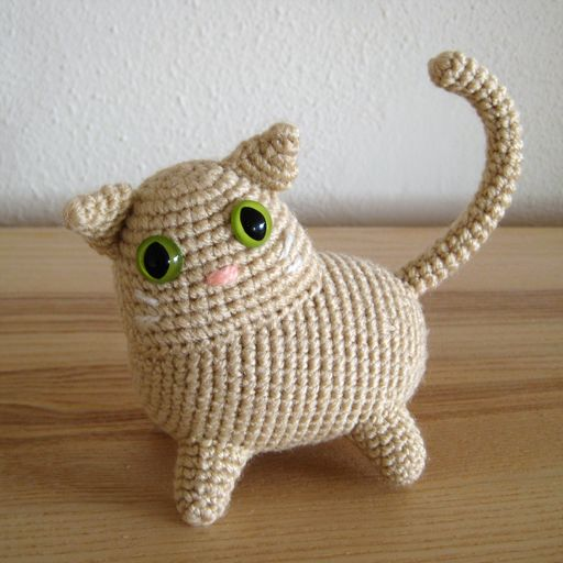 Amigurumi Sushi Cat : There is no such thing as too many kitties - CROCHET ...