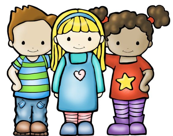 Best Friends Cartoon Free Clip Art