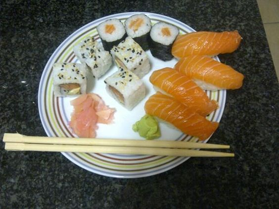 Sushi - all kinds of sushi for me anytime!!: Anytime, Sushi, Food Glorious Food