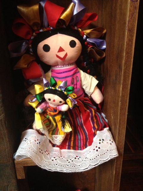 Marías de Michoacán, son muñequitas de trapo muy bonitas... ♥