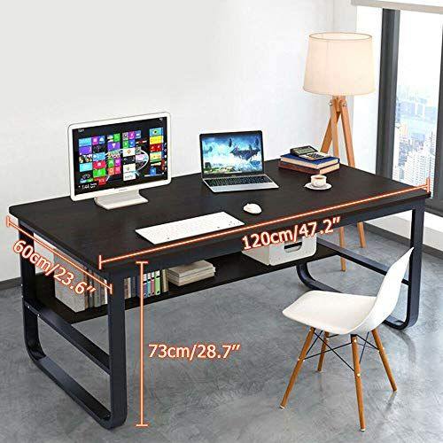 Black Industrial Folding Laptop Black Gaming Table Steel Wood Study Workstation in 3 Piece Household L-Shaped Computer Desk,Home Office Corner Desk Placed Keyboard,Free Combination Study Desk