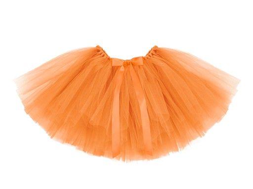 Spodnica Tiulowa Tutu Pomaranczowy 80 X 34cm 7519655669 Oficjalne Archiwum Allegro Tulle Skirt Tulle Skirts