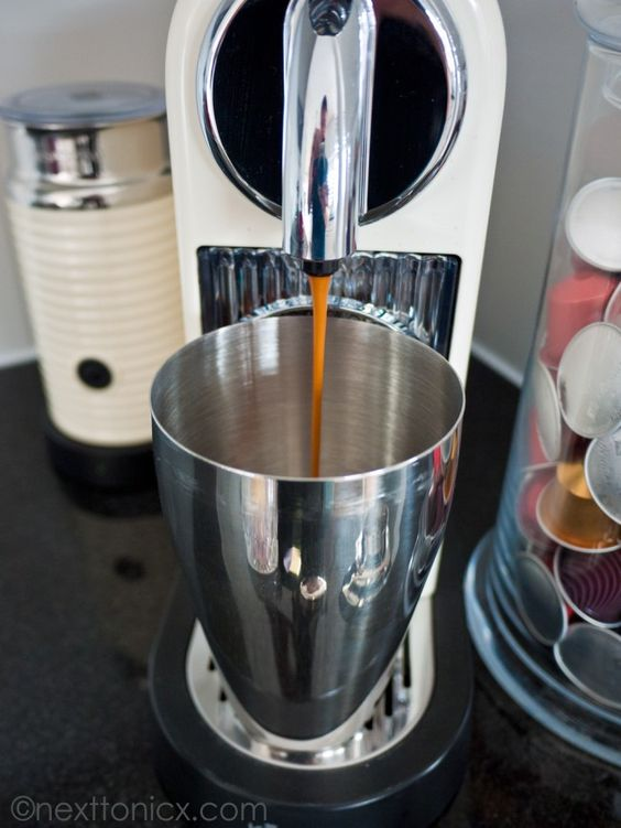 How to use your Nespresso machine to make iced coffee  -> Nespresso Iced Coffee