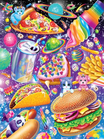 Junk Food Posters by Lisa Frank at AllPosters.com