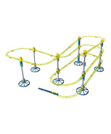 Another great find on #zulily! Skyrail Roller Coaster Set #zulilyfinds