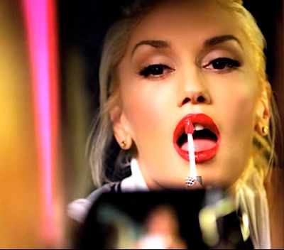 """How To Get Gwen Stefani's Hairstyle/Makeup Look From Her Newest Video For """"Settle Down"""" -- Her Signiture Red Lips And Blonde Hair All From L'Oréal Paris"""