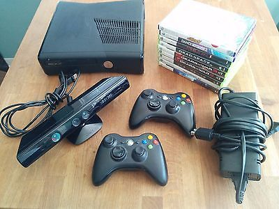 Microsoft Xbox 360 Slim 4 GB with Kinect  2 controllers  9 games! https://t.co/fCSXoD8TAp https://t.co/BU1rMTbCuS