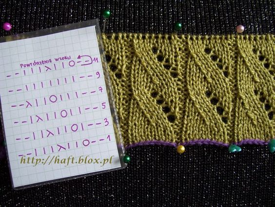 Takes knitting needles: knitting lessons with diagrams and photo-video lessons