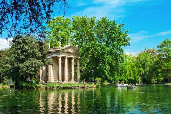 Сади Вілли Боргезе, Рим, Італія