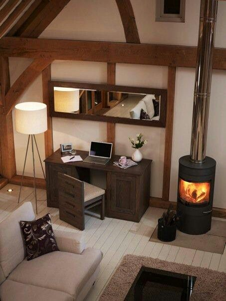Do It Yourself Home Design: Hidden Desk, Desk Chairs And Laptop Storage On Pinterest