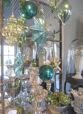 Teal and Gold: A uniquely beautiful, sophisticated holiday ...