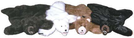 Black Bear Rug - Small