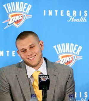 Cole Aldrich is kind of adorable