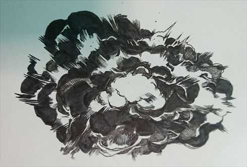 誰でも描けるリアル背景 爆発エフェクト の描き方 爆発 イラスト