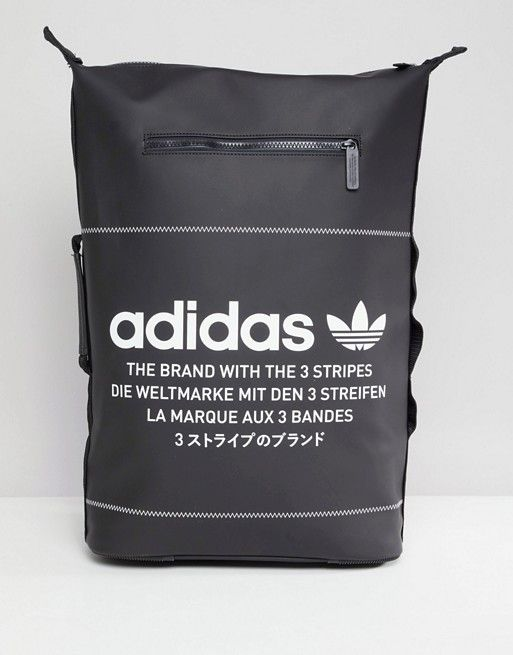 adidas Originals NMD Backpack In Black DH3097