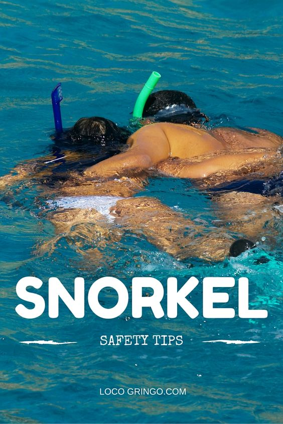 Snorkeling Safety tips for your Riviera Maya vacation...