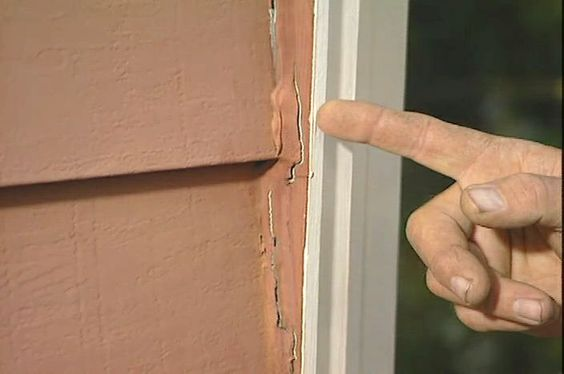 how to remove and replace caulk around doors and windows ron hazelton online diy ideas