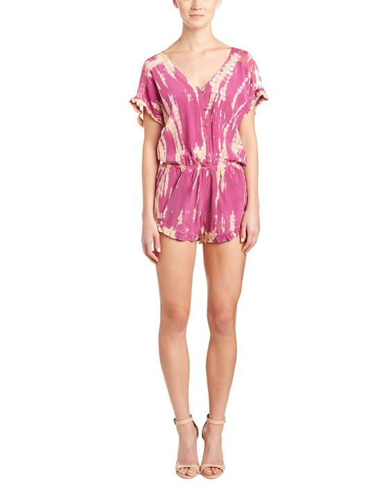 Spotted this Gypsy 05 Ruffle-Trim Silk Romper on Rue La La. Shop (quickly!).