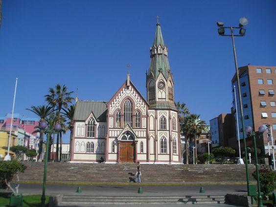 Arica Iglesia San Marcos, Chile, - Gustave Eiffel – Wikipédia, a enciclopédia livre