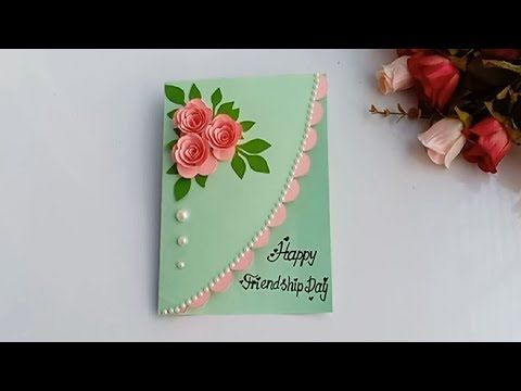How To Make Friendship Day Special Pop Up Card Diy Friendship Day Card Youtube Cards Handmade Greeting Cards Handmade Birthday Card Craft