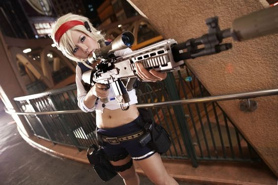 Sherry Birkin from Resident Evil 6 by mao cosplay