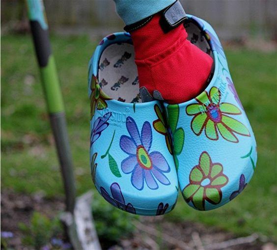 Fun new garden shoes from Birkinstock!