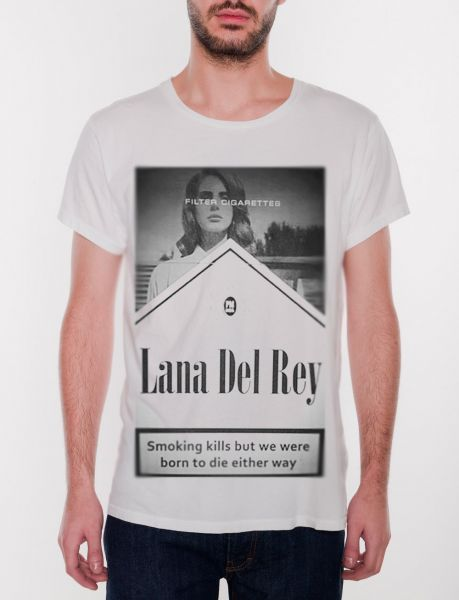 I would buy this Lana Del Rey shirt but I'm not sure they deliver to America.