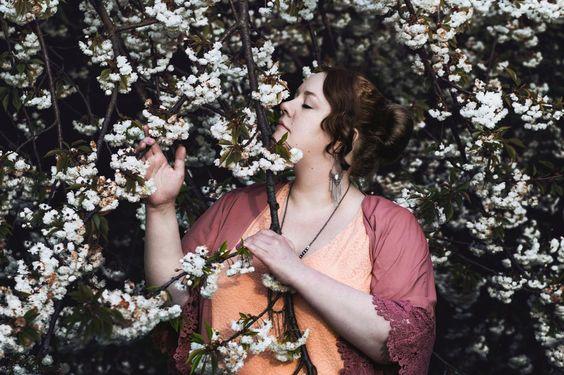 Romantischer Boho-Blütentraum (Plus-Size-Fotografie) | Marshmallow Mädchen