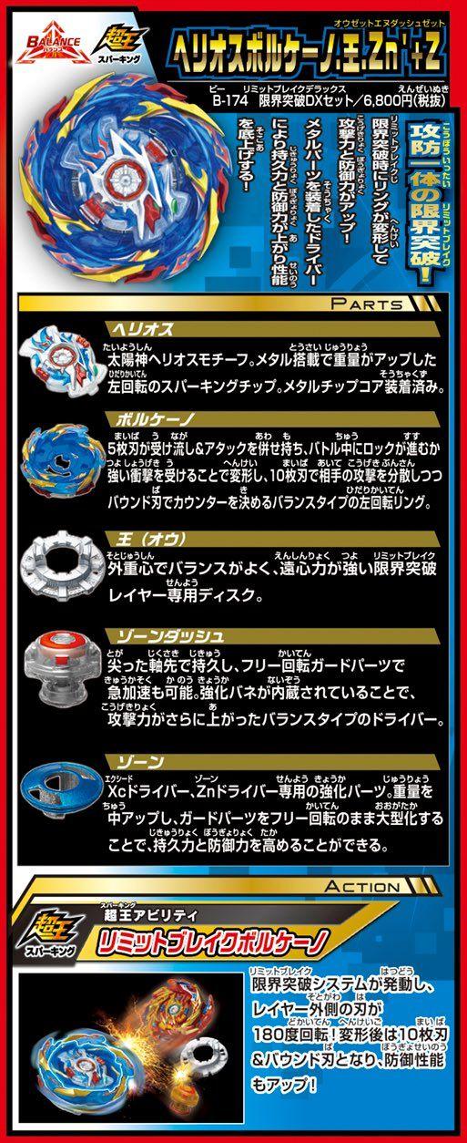 Takara Tomy Beyblade Burst Parts Forge Disc 0