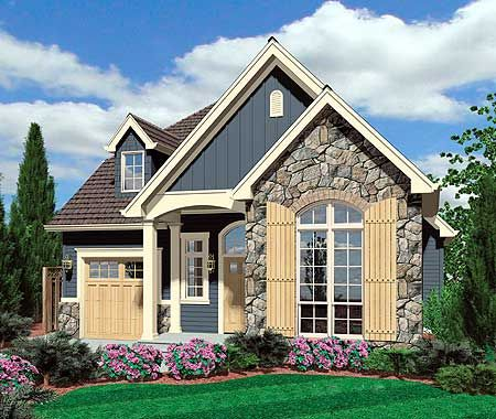 European Cottage Plan with High Ceilings - 69128AM | Cottage, European, Narrow Lot, 1st Floor Master Suite, Butler Walk-in Pantry, CAD Available, Den-Office-Library-Study, PDF | Architectural Designs