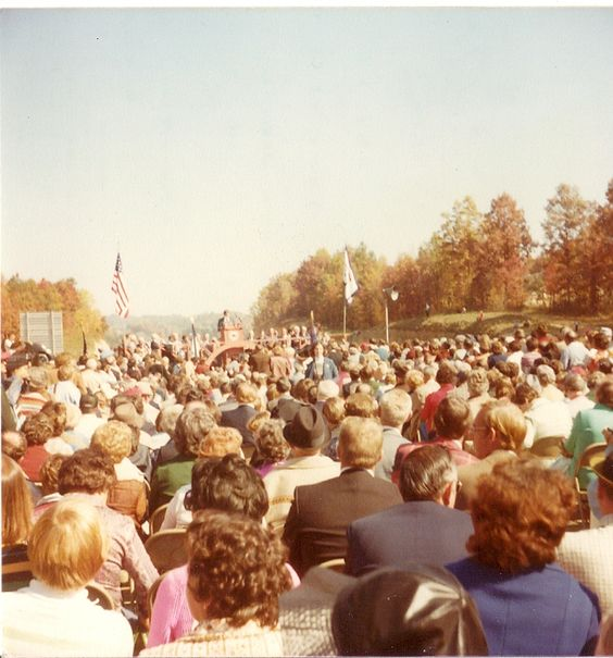 The New River Gorge Bridge Dedication, 1977