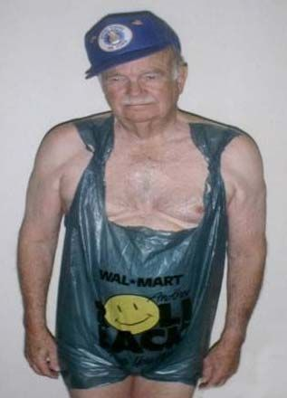the new walmart greeter uniform...