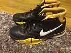 For Sale - Nike Zoom Kobe 1 Black Yellow Size 12.5 Kobe 12 13 Los Angeles Lakers - http://sprtz.us/LakersEBay