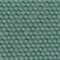 Loft Tea Green Penny Round Glass Tile
