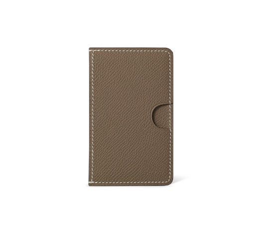 hermes leather phone case