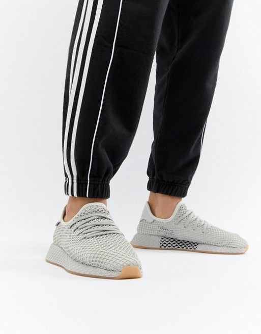 adidas Originals Deerupt Runner Sneakers In Gray CQ2628