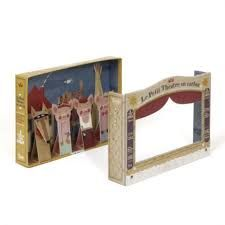 Image result for cardboard puppet theatre