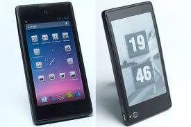 Smartphone-ul cu doua ecrane