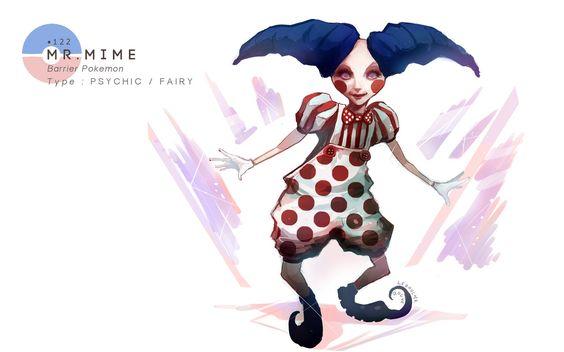 Mr Mime by MrRedButcher.deviantart.com on @deviantART