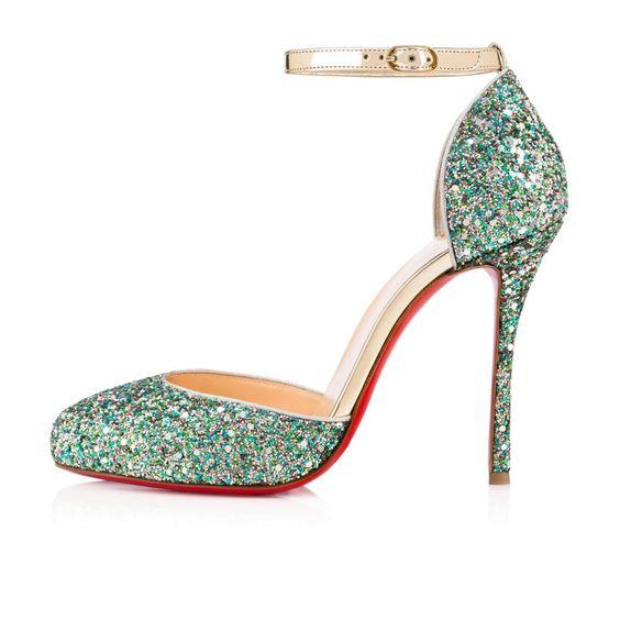 louboutin sneakers dames glitters