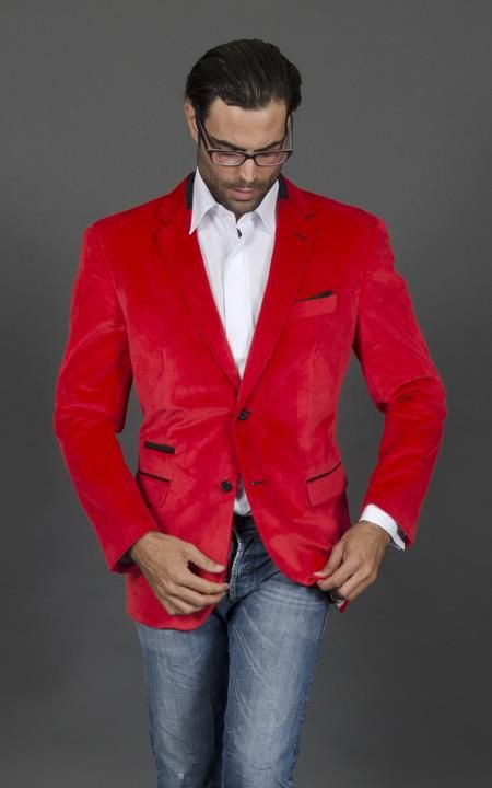 Collection Red Sports Coat Pictures - Reikian
