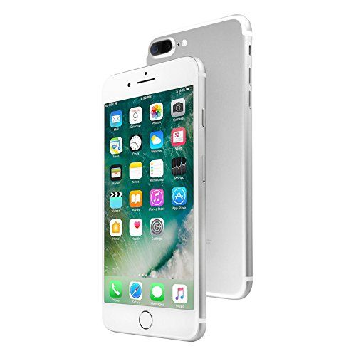 Apple Iphone 7 Plus 128 Gb Unlocked Silver Certified Refurbished Amazon Best Buy Iphonex Iphone Unlocked Cell Phones Iphone 7 Plus