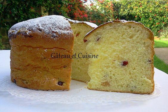 Panettone ,brioche italienne