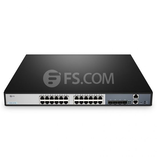 S3900 24t4s Fanless 24 Port 10 100 1000base T Gigabit Stackable Managed Switch With 4 10gb Sfp Uplinks Internet Switch Network Switch Switch