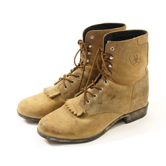 Ariat Lace Up Boots - Cr Boot