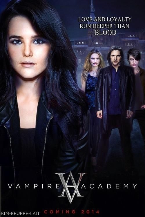 vampire academy fan art movie poster vampire academy