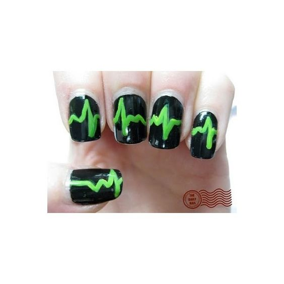 Type O Negative Nails!!!! hair-make-up-clothes-jewelry